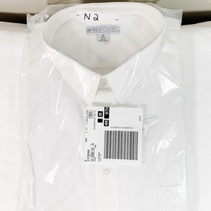 Other - 🛍New Kings Court White Dress Shirt, 19 Tall